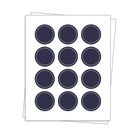 Custom Circle Sheet Labels