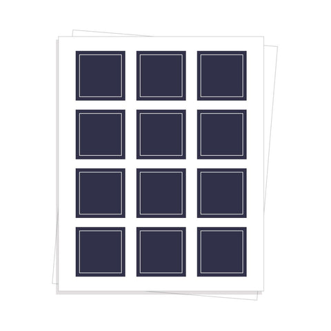 Custom Square Sheet Labels