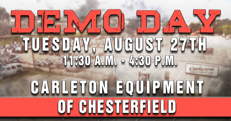 2019 Chesterfield Demo Day - Carleton Equipment