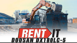 Doosan DX180LC-5 - Rent It with Carleton Equipment