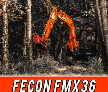 Fecon FMX36 - Doosan DX85 Rental | Carleton Equipment Co.