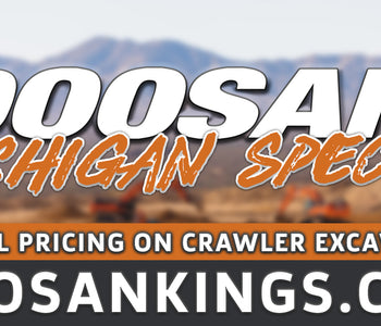 Michigan Doosan Special - Crawler Excavators | Carleton Equipment Co.