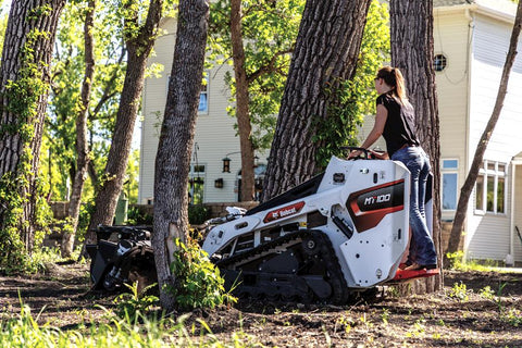 Bobcat MT100 with Soil Conditioner