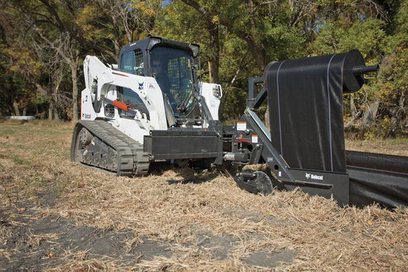 Silt Fence Installer - Bobcat