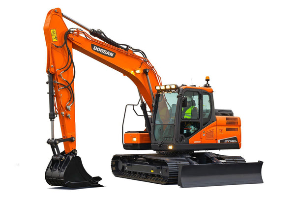 Doosan DX140LC-5 - Rental