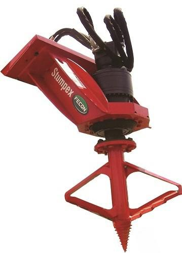 Stumpex Auger Stump Grinder Attachment | Fecon