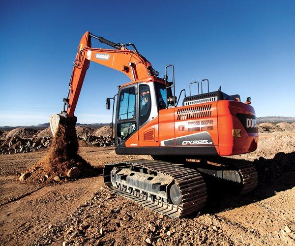 Doosan DX225LC-5 - Rental