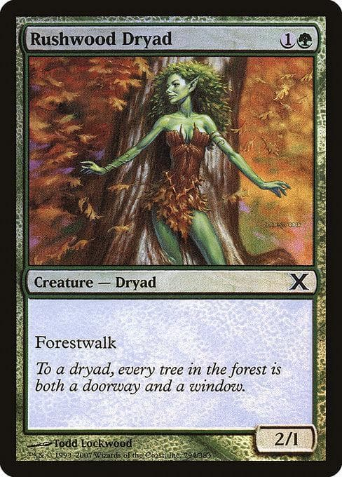 Rushwood Dryad [Tenth Edition]