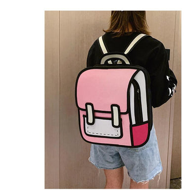 3D Cartoon Oxford Backpack - More than a backpack