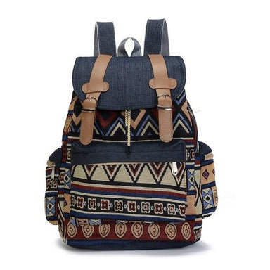Bohemian Canvas Backpack - More than a backpack