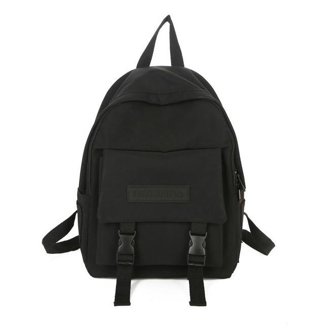 Canvas Mochilas School Backpack - More than a backpack