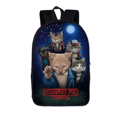 Funny Cat Canvas Backpack - More than a backpack