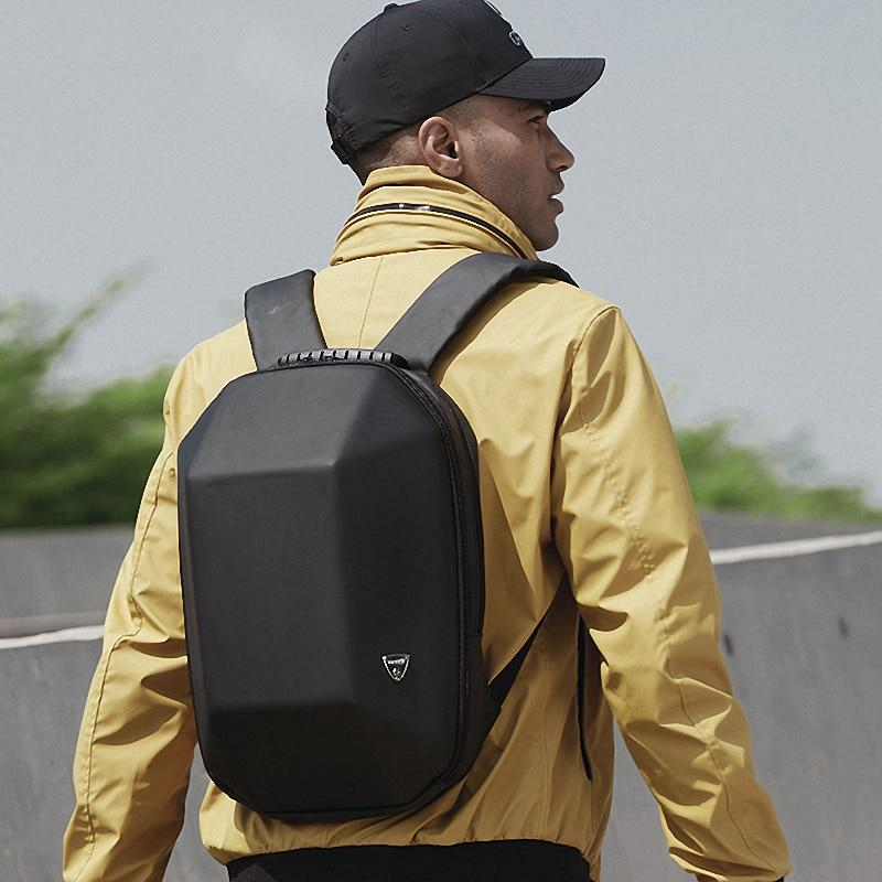 Hard Shell Anti-Theft Backpack - Black - More than a backpack