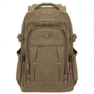 Military Canvas Backpack - More than a backpack