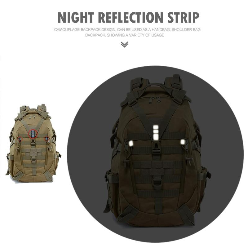 Military Tactical Outdoor Backpack - More than a backpack