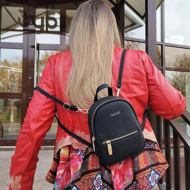 Mini Soft Touch Faux Leather Backpack - More than a backpack