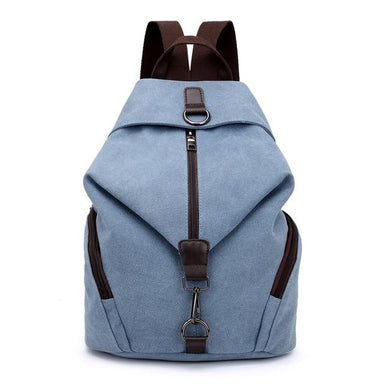 Preppy Style Canvas Backpack - More than a backpack