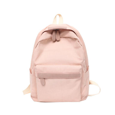 Simple Canvas School Backpacks - More than a backpack