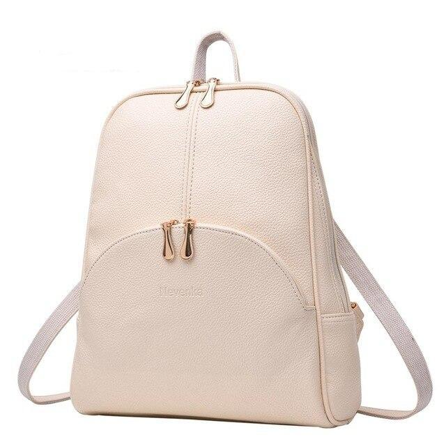 Slim Faux Leather Nevenka Backpack - More than a backpack