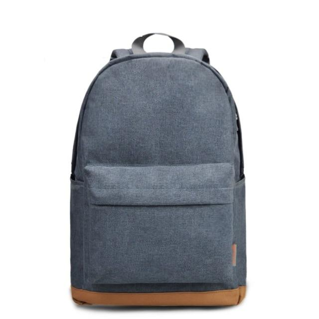 'The Basic' - Classic Canvas Backpack - More than a backpack