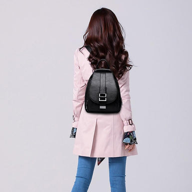 """The Classic"" - Leather Backpack - More than a backpack"