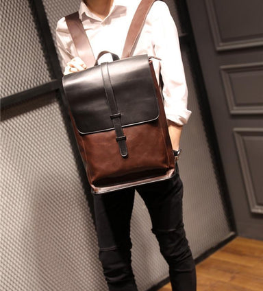 'The Gent' - Vintage Faux-Leather - Travel Backpack - More than a backpack