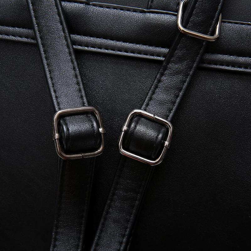 'The Kav' - Small Faux Leather Backpack - More than a backpack