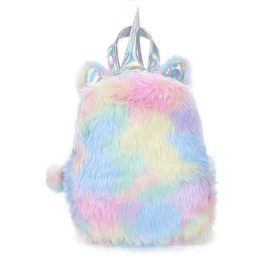 Unicorn - Holographic & Fluffy Backpack - More than a backpack