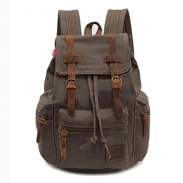 Vintage Canvas Backpack - More than a backpack