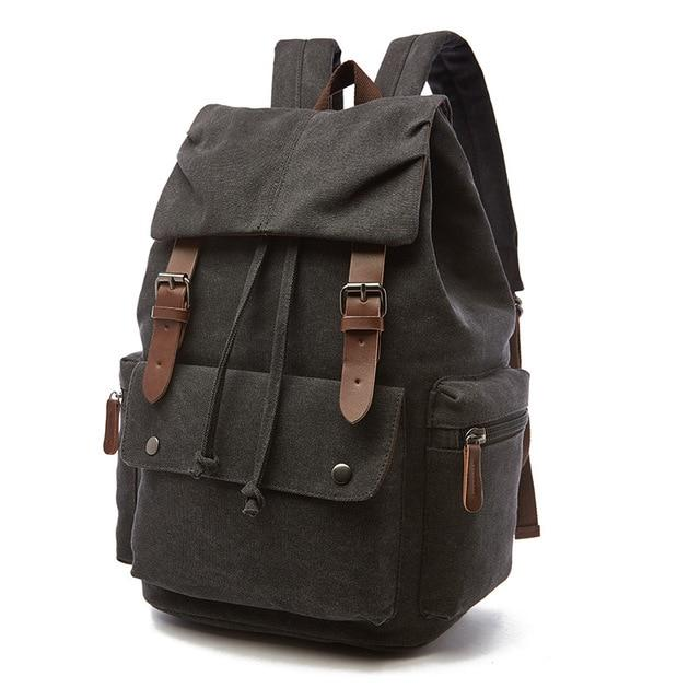 Vintage Large Canvas Backpack - More than a backpack