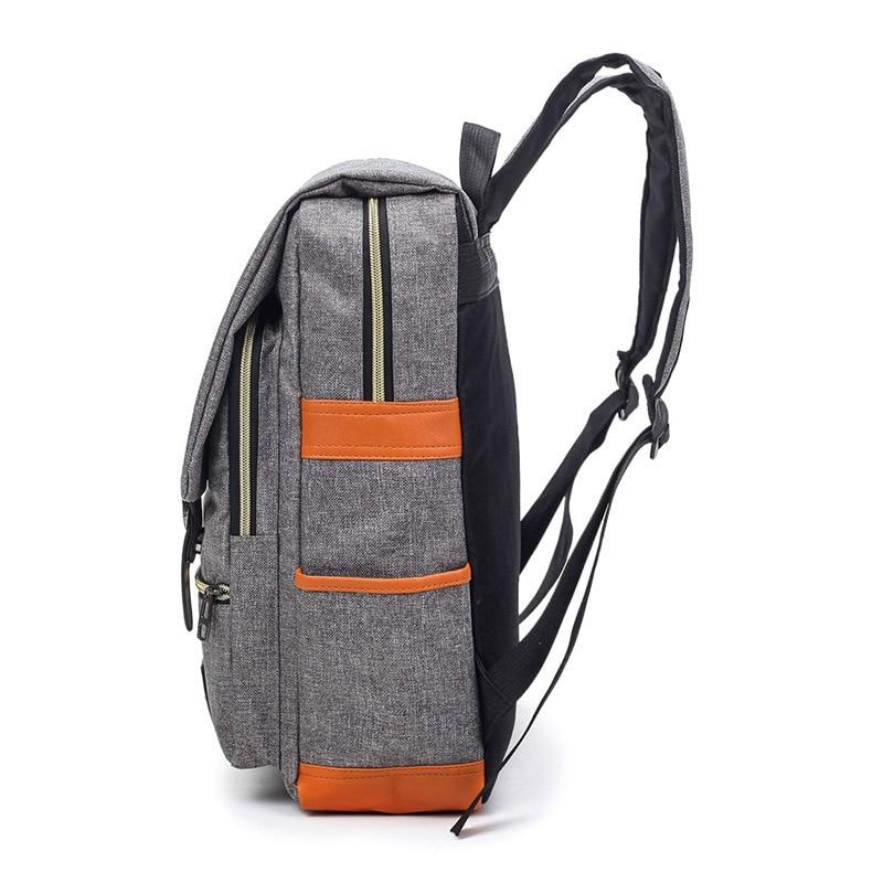 Vintage Oxford Travel Laptop Backpack