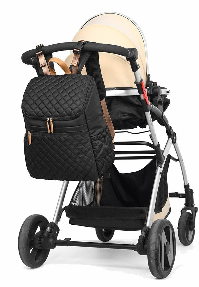Waterproof Fashion Stroller Diaper Backpack