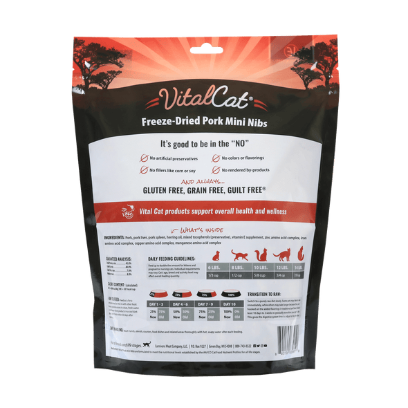 Pork Freeze Dried Mini Nibs