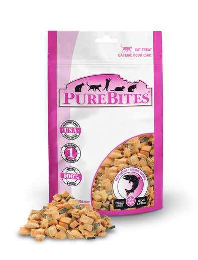 Freeze Dried Wild Pacific Salmon Treats