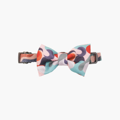 Collar with Bow Tie - Dreamy Camouflage