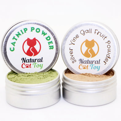 Catnip/Silver Vine Powder Combination Pack