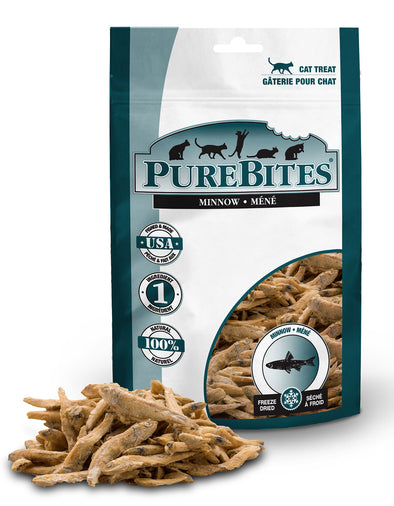 Freeze Dried Minnow Treats