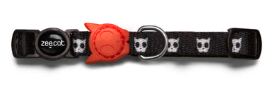 Adjustable Breakaway Cat Collar - Skull