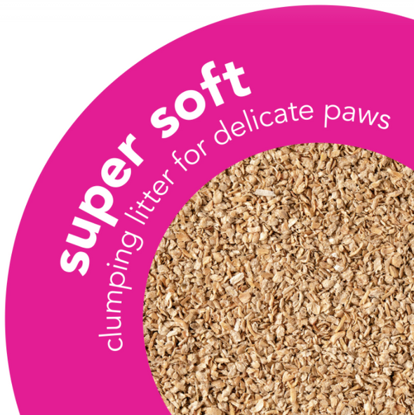 Super Soft Clumping Wood Litter