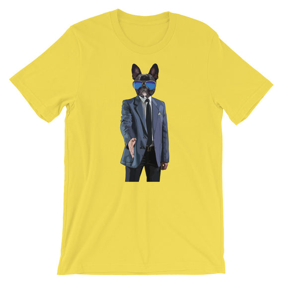 Frenchie Bulldog Business T-Shirt