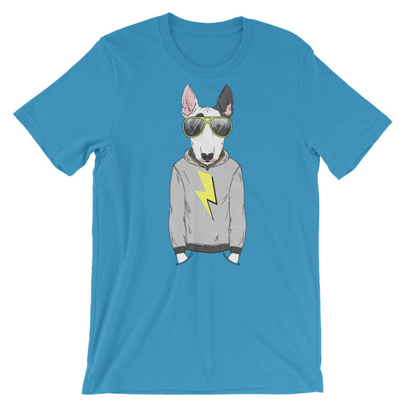 Bull Terrier Cool Lighting T-Shirt
