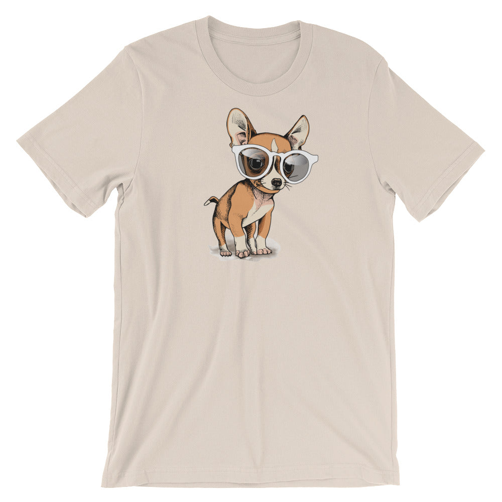 Chihuahua Glamour Dog T-Shirt - Doggo Clothing Company