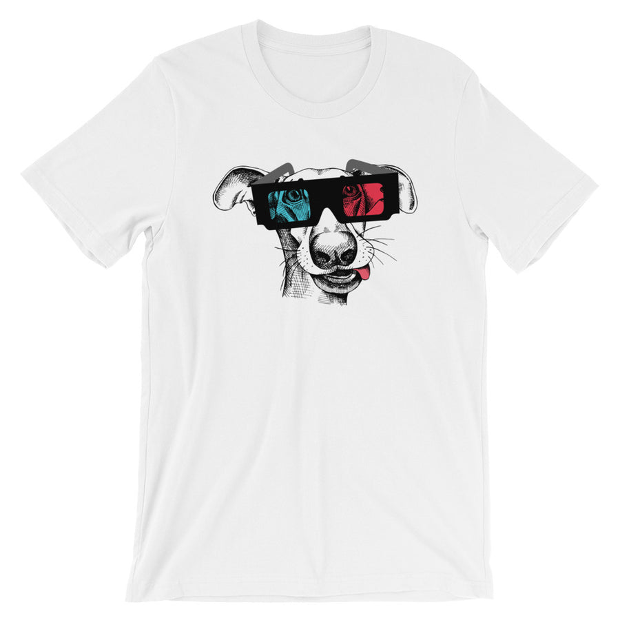 Great Dane Wearing 3D Glasses T-Shirt