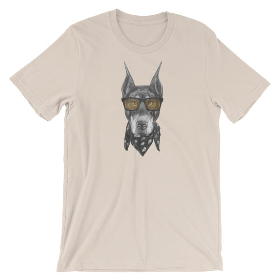 Dobermann With Shades Dog T-Shirt