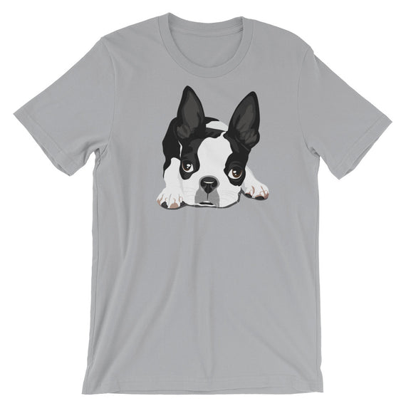 Boston Terrier Cute Dog T-Shirt - Doggo Clothing Company