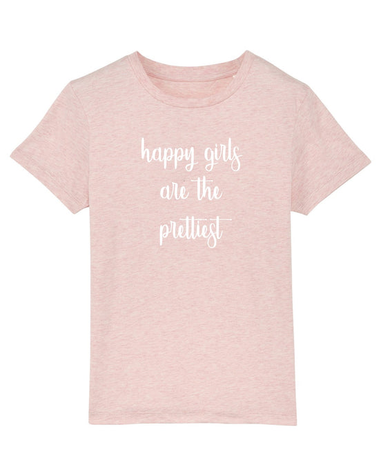 Oh Meisje T-shirt - Happy girls are the prettiest