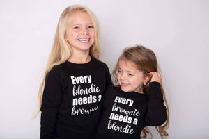 Twinning set kids - Every blondie needs a brownie