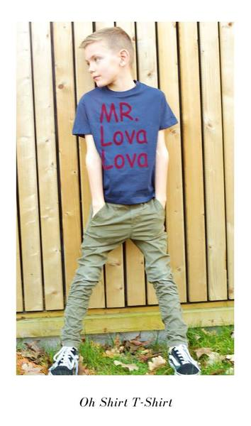 Oh jongen T-shirt - mr lova lova
