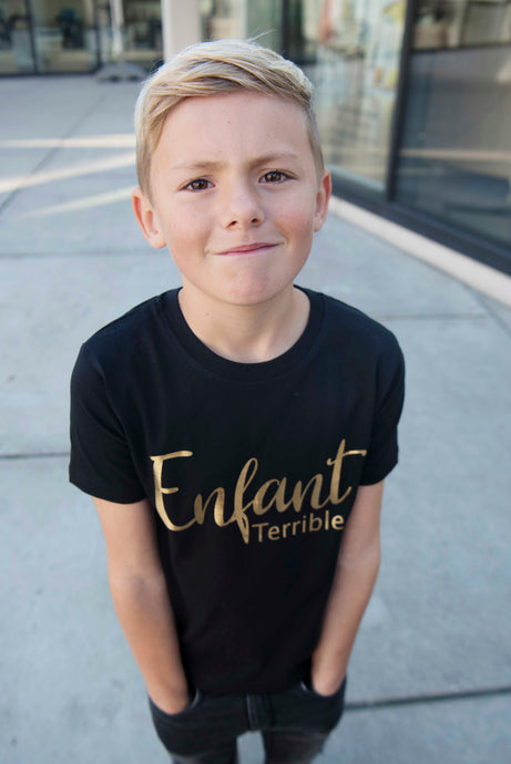 Oh jongen T-shirt - Enfant terrible
