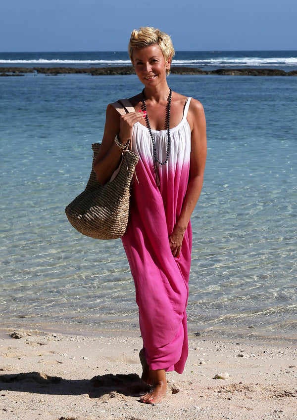 Silky Beach Maxidress